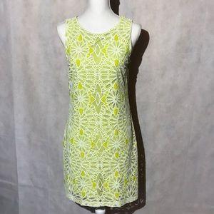 Belle Badgley Mischka Sleeveless Dress Size 8